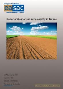 EASAC soil report cover